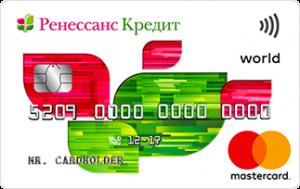 Внешний вид карты Простые радости / Ренессанс Кредит