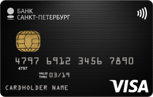 Visa Cash Back / Банк Санкт-Петербург