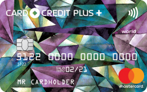 Внешний вид карты CARD CREDIT PLUS+ / Кредит Европа Банк